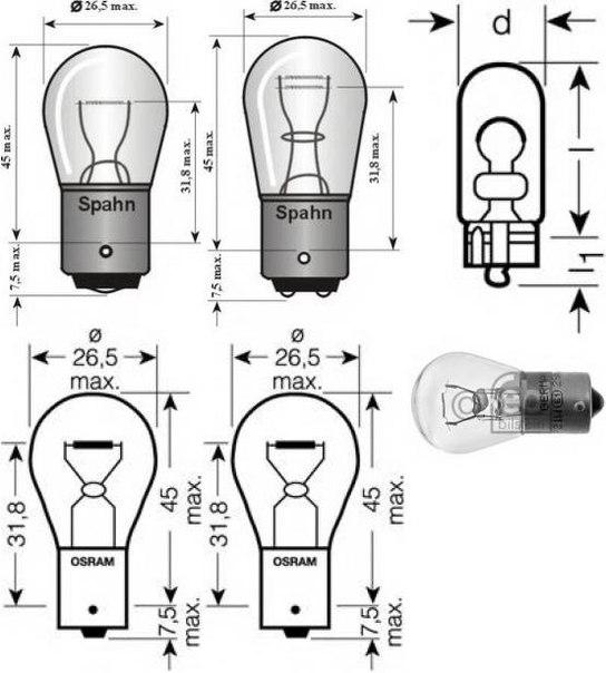Фонарь сигнала торможения для AUDI A2 (8Z0)