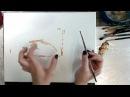 Запись занятия! День матери! Пишем Лебедя с лебедятами маслом! Dari_Art