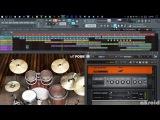 ProgressiveDjentTech Metal in FL Studio 12  akroid- Brain Damage  Original Mix