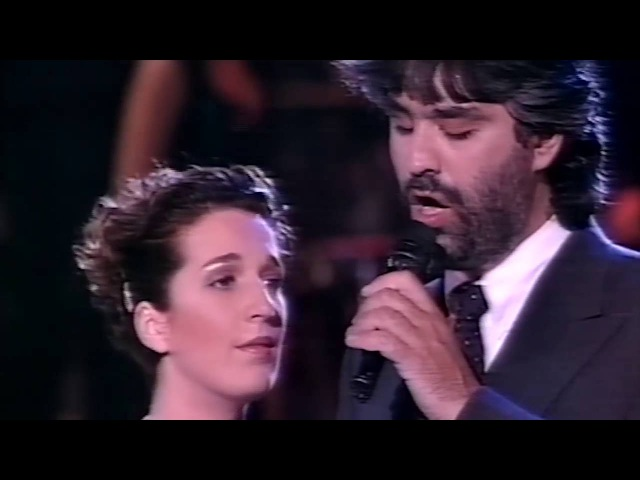 Andrea Bocelli y Dulce Pontes - O Mare E Tu
