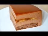 Муссовый торт Банан Карамель Шоколад