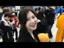 170118 다이아 예빈 베트남 - 인천공항 입국 4K 직캠