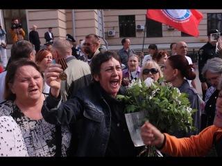 """Акция """"Бессмертный полк"""" в Запорожье 09.05.2017 (видео 061.ua)"""