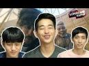"Реакция корейцев на клип ""LONE - якутяночка"" Корейские парни Korean guys"