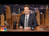 Jimmy Reveals a Few of Tonight Show's Alexa Skill Easter Eggs