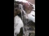Водопад из родника в Пущино!