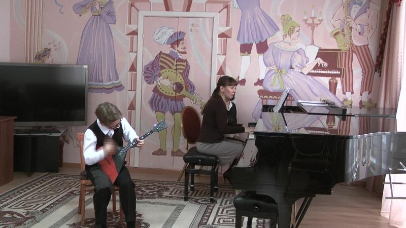Шадрунов Богдан, преп .Фунт Т.В. концертм.Казакова И.В. .2017 год.Выпускной экзамен