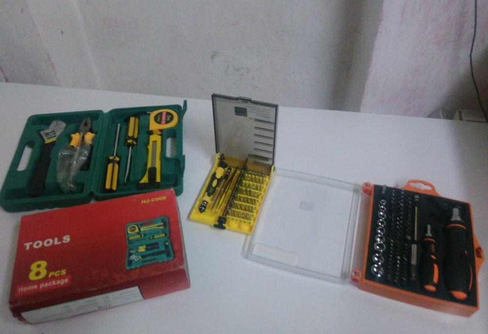 DD4: Набор китайских инструментов в пластиковом кейсе