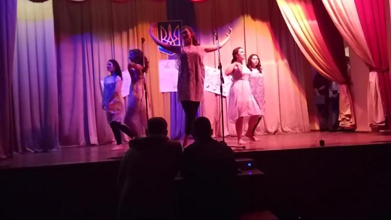 Танцевальный коллектив Академии ДПтС - танец Слово о любви. Хореограф Довгопола О.В.