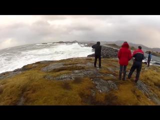 Шоссе в Норвегии впечатляет (6 sec)
