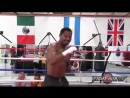 Shane Mosley vs. Ricardo Mayorga 2 video- Complete Mosley workout video