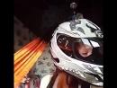 Хвост дредлок №23 на мотошлем