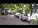 ♐Видео-отчет рейда на тротуаре ул. Траян♐