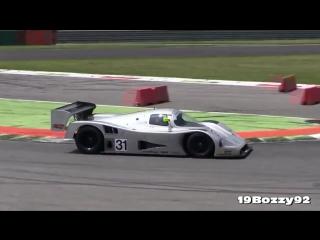 Pure sound! Monza! Sauber C11, Porsche 962, Nissan R9