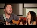 Папа и дочь поют песню Adele