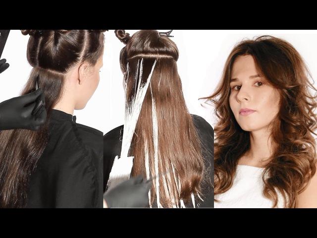 Окрашивание волос ✄ Техника Балаяж ✄ Как покрасить волосы