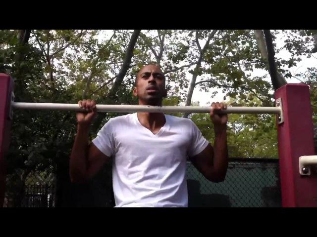 Brooklyn pull-ups/push-ups(30secs each hold)