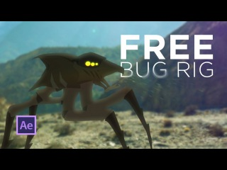 FREE Alien Bug Rig - After Effects