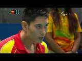 Table Tennis  Germany v China  Men's Singles- Class 3 Gold Medal Match  Rio 2016 Paralympic Games