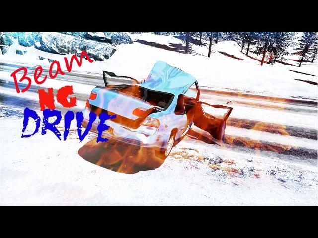 Когда не справился с управлением| Beam NG Drive 1