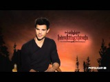 Taylor Lautner Talks Battling Robert Pattinson and His First Post-Twilight Role
