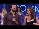 Juliana Paes e Rodrigo Lombardi Respondem as perguntas Escrotas no Divã do Faustão 26 03 2017