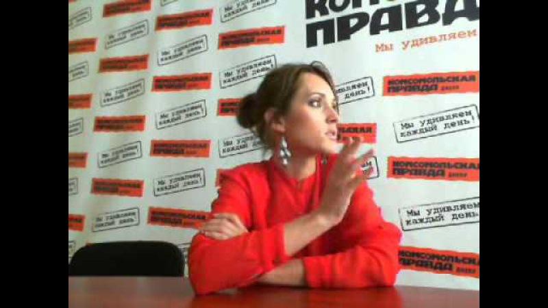 Победительница Х-фактора Аида Николайчук в Комсомольской правде