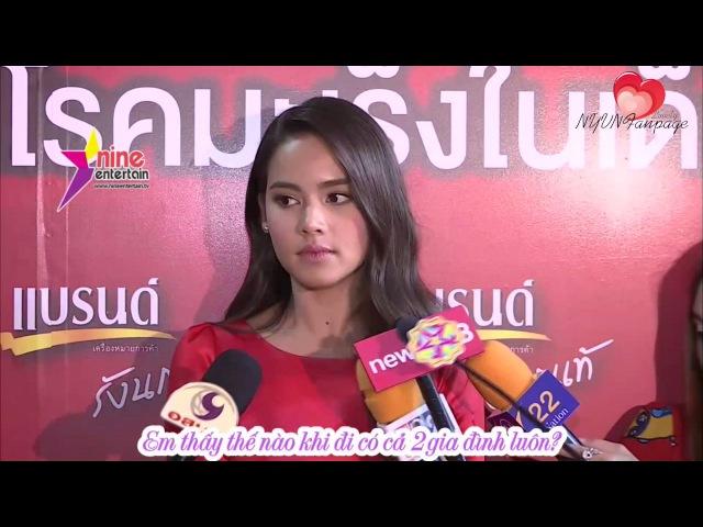 [vietsub] Yaya hẹn hò cùng Nadech chụp ảnh ở Việt Nam | Interview 26.07.16