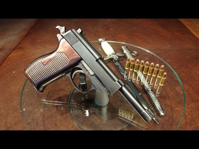 ♐Walther P38 (Mauser - French supervision) - Вальтер Р38 (1945 - под Французским надзором)♐