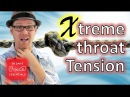 Muscle Tension Dysphonia | Severe Vocal Fold Constriction | DrDan