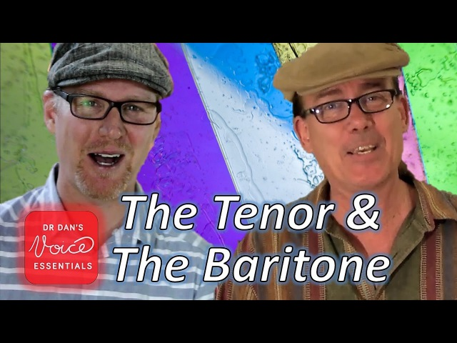 Difference between a TENOR and a BARITONE | with Mark Baxter | DrDan