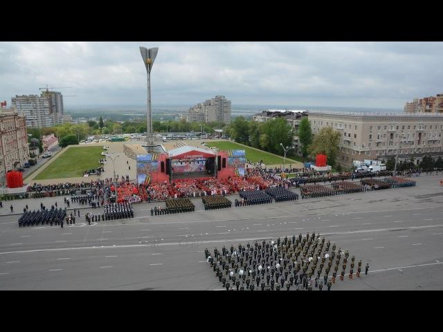 Парад, посвященный 72-летию Великой Победы Ростов-на-Дону 2017