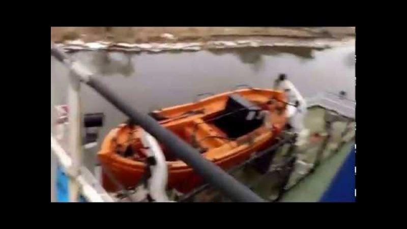 HYVST SPT 650 нанесение гидроизоляции гипердесмо на палубу корабля безвоздушным крас...