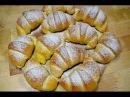 РОГАЛИКИ с Творогом из Дрожжевого теста   Чудесные Рогалики   BAGELS with cream Cheese