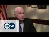 Джон Маккейн Говорить с Путиным языком силы - американский сенатор в