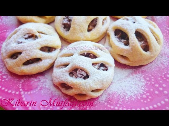Elmalı turta şeklinde kafes kurabiye tarifi - Tam Ölçülü en güzel kurabiyeler - kibarin mutfagi