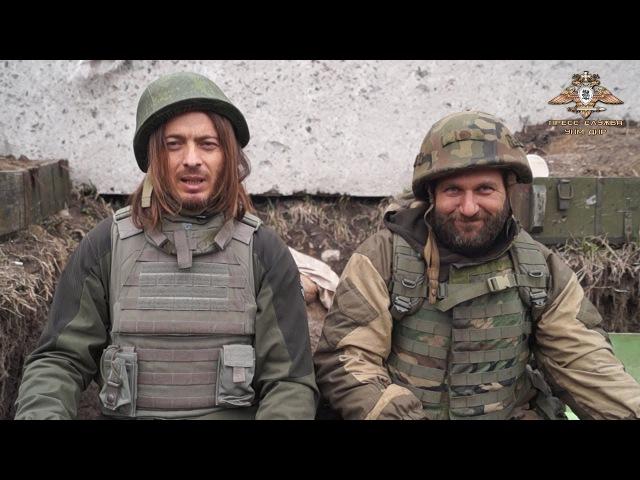 Встреча в ДНР: итальянский журналист и доброволец