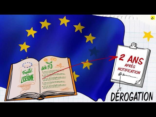 Expliquez-nous... larticle 50 du traité de Lisbonne