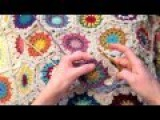 Indie Lovely star flower hexagon crochet pattern