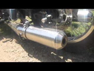 Ural M70 motorcycle exhaust sound note technwheelz.com