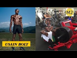 Usain Bolt Training | Strength and Speed Workout Techniques | Motivation Highlights
