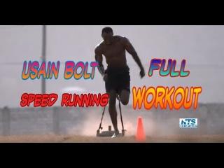 Usain Bolt speed Running full Workout 2017