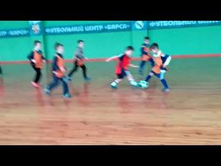 Денис Народицкий 5 лет. Игра на тренировке 22.01.17г