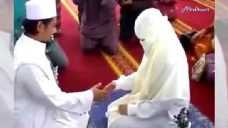 Первое прикосновение после бракосочетания никяха