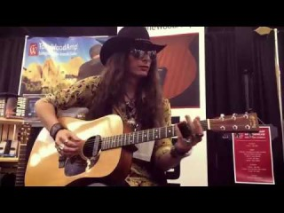 Justin Johnson Solo Acoustic Guitar | TONEWOOD AMP DEMO @ NAMM 2017