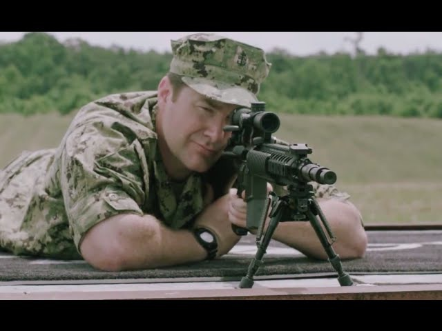 Navy Sniper Monty LeClair and the MK-12 SPR
