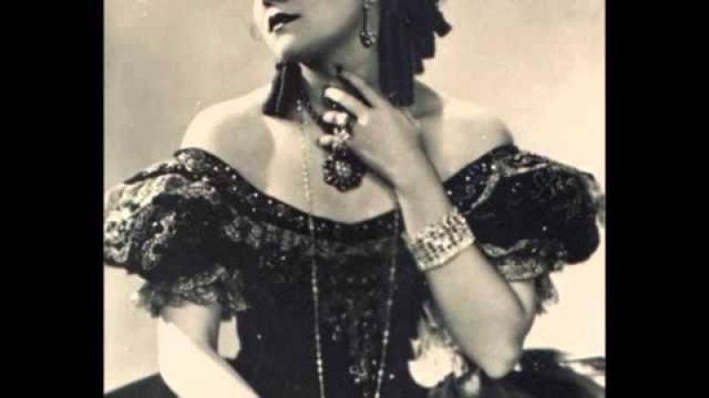 Bidu Sayao - Гуно ария Маргариты с жемчугом - Jewel song - Faust.