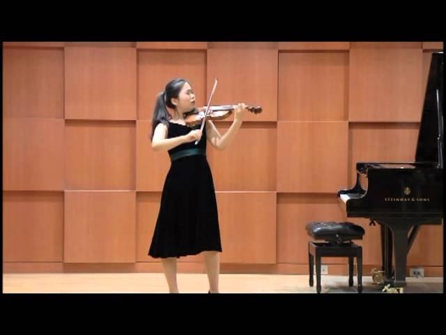 Soobeen Lee - J. S . Bach Partita No.3, BWV1006
