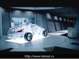 Реклама Shell Масло Shell Helix Ultra в прозрачном автомобиле