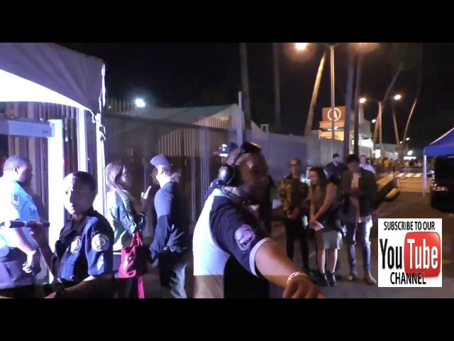 Matt Damon outside the Coldplay Concert at The Rose Bowl in Pasadena